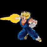 Vegito SSJ render [DB Legends]