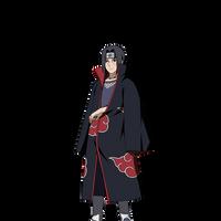 Itachi Uchiha render [NxB Ninja Tribes]