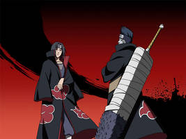 Itachi - Kisame Wallpaper 2 [NxB Ninja Tribes]