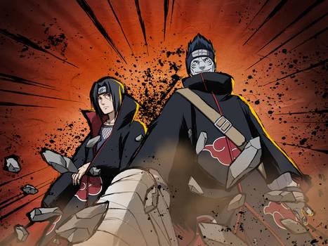 Itachi - Kisame Wallpaper [NxB Ninja Tribes]