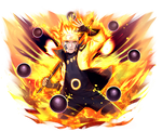 Naruto (Six Path)render 2 [Ultimate Ninja Blazing]