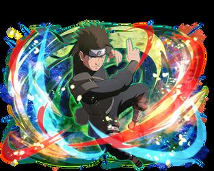 Hiruzen (Young) render [Ultimate Ninja Blazing]