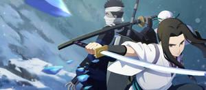 Haku - Zabuza (Samurai) Wallpaper [Naruto Mobile]