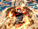 Gaara (War) card 7 [NxB Ninja Voltage]