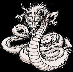 Ninpo  Choju Giga (Dragon) render [Slugfest]