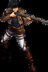 Shooter render 3 [Attack on Titan TACTICS]
