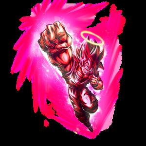 Goku SSJ (Super Kaioken) render 2 [DB Legends]