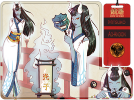 Mitsuko Character Sheet by Rawrs-Bad-Ideas