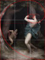 Composition using Golden Ratio - Daphne 2013 by Lasarasu