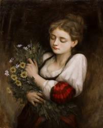 The Flower Picker by Lasarasu