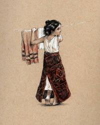 Petit Blanchisseur (Little Launderer) by Lasarasu