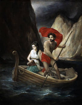 Psyche Crossing the River Styx
