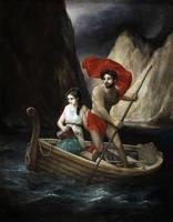 Psyche Crossing the River Styx by Lasarasu