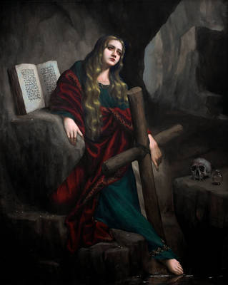Penitent Magdalene by Lasarasu