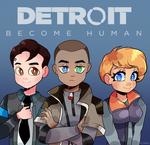 Detroit become human - fanart