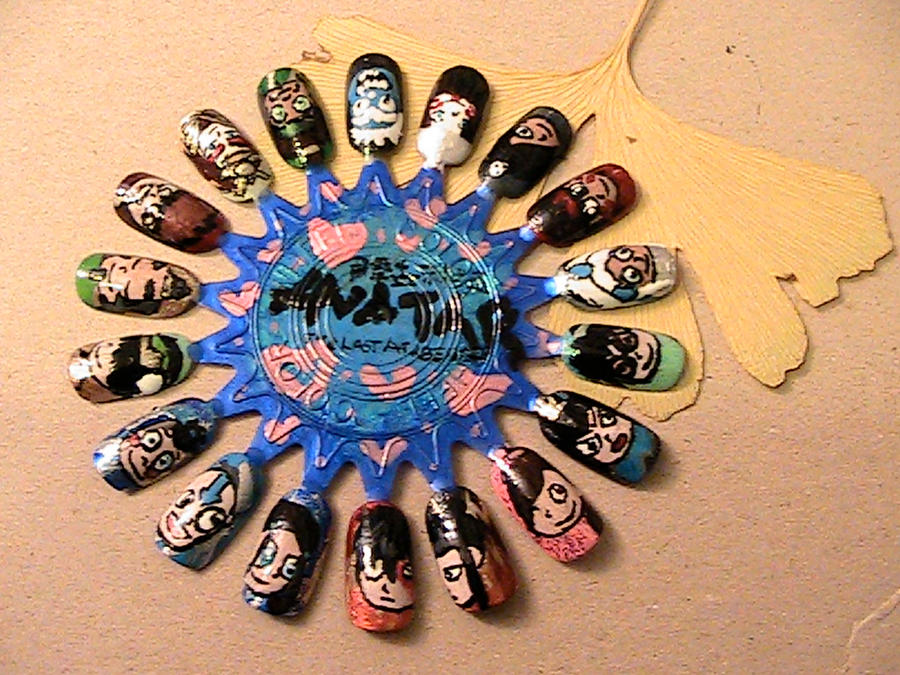 Avatar Nail Art Wheel by CeruleanElmo on DeviantArt