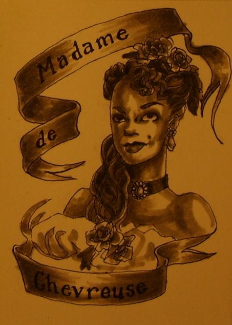 Madame de Chevreuse by AgarthanGuide