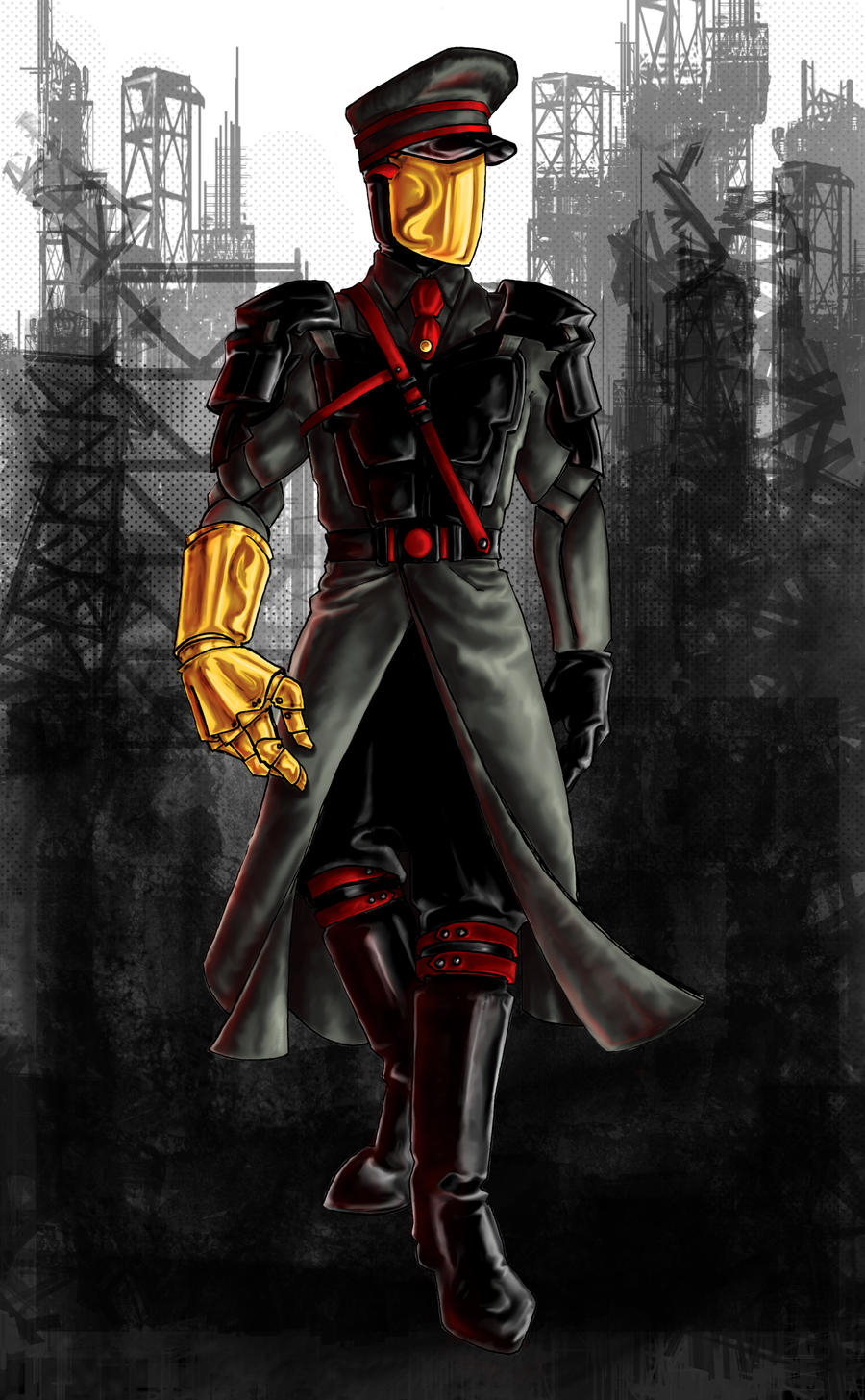 The Man with the Golden Glove by AgarthanGuide