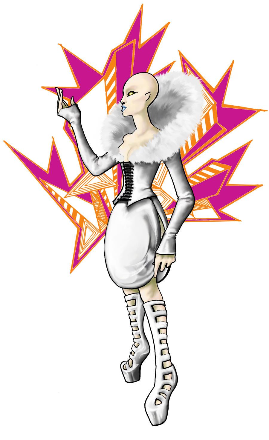Lady Binary Splash by AgarthanGuide