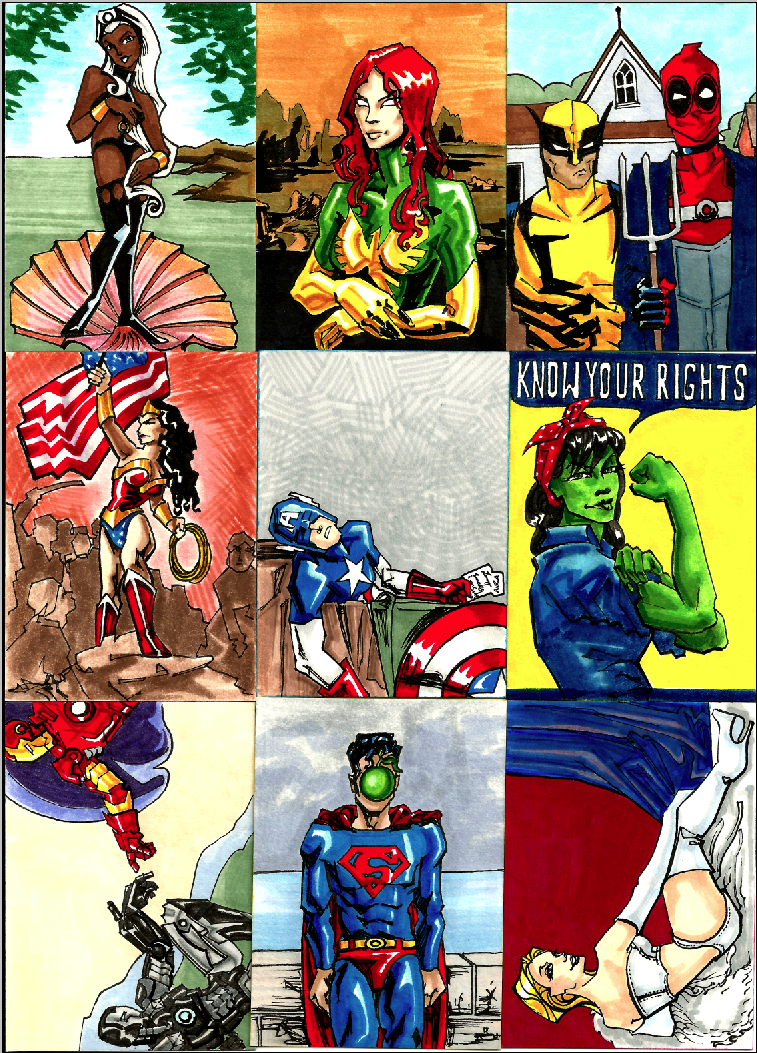 SketchCard Mambo- Marvel Art by AgarthanGuide