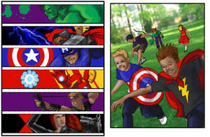 Two Avengers Concepts by AgarthanGuide