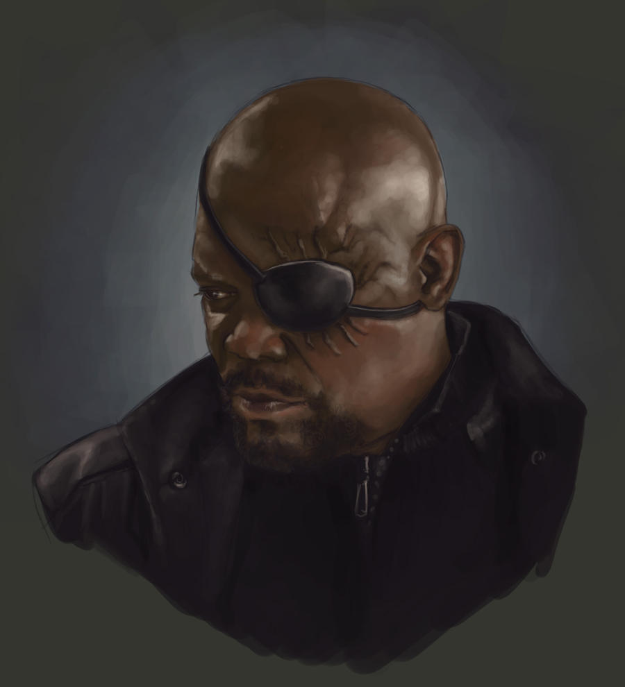 Nick Fury by AgarthanGuide