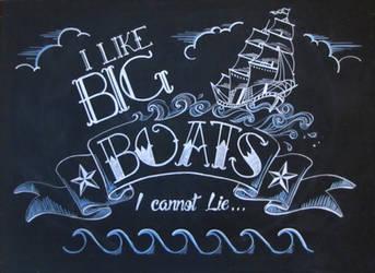 I Like Big Boats by AgarthanGuide