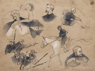 Civil War Sketches by AgarthanGuide