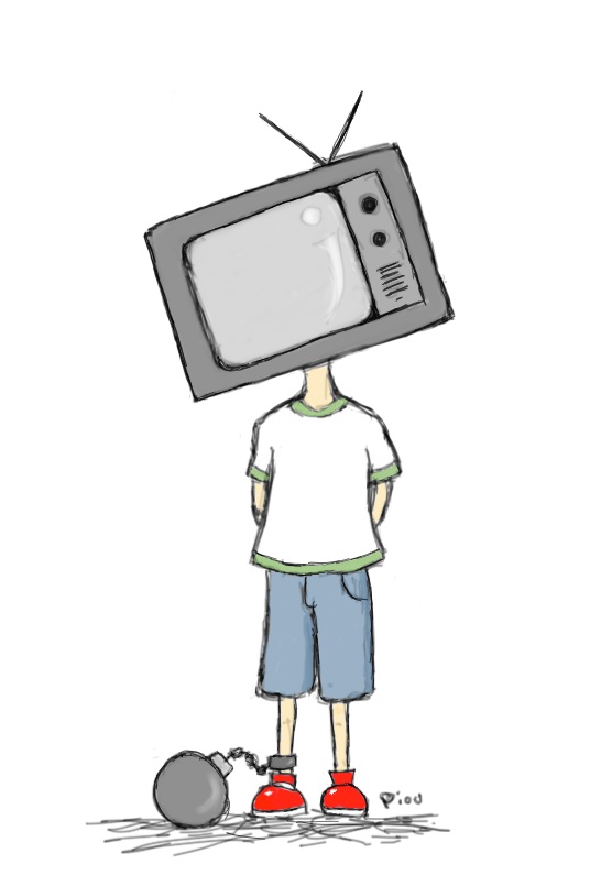 Tv Boy by Piou-plume