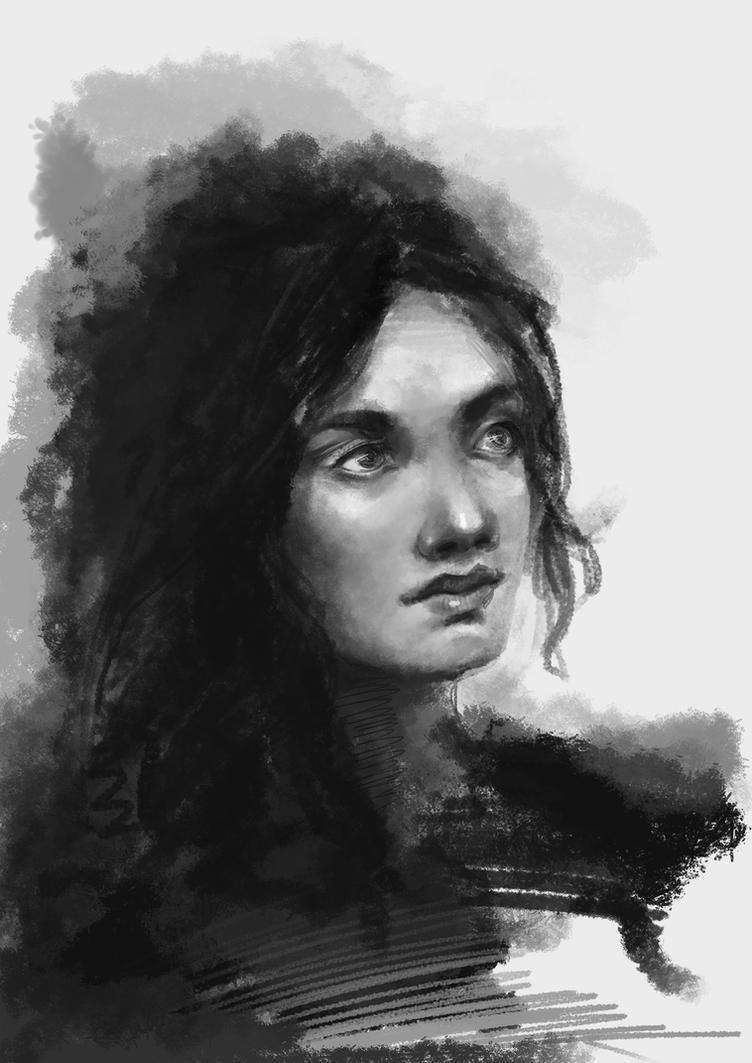 Portrait1 by Sibarika