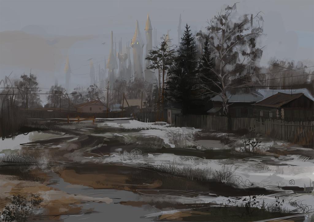 Landscape practice by Sibarika