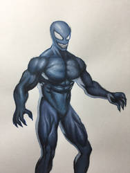 Symbiote  Suit by crabnebula85