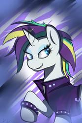 Punk Rock Horse by wilshirewolf
