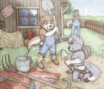 Trouble at the Farm Part Two