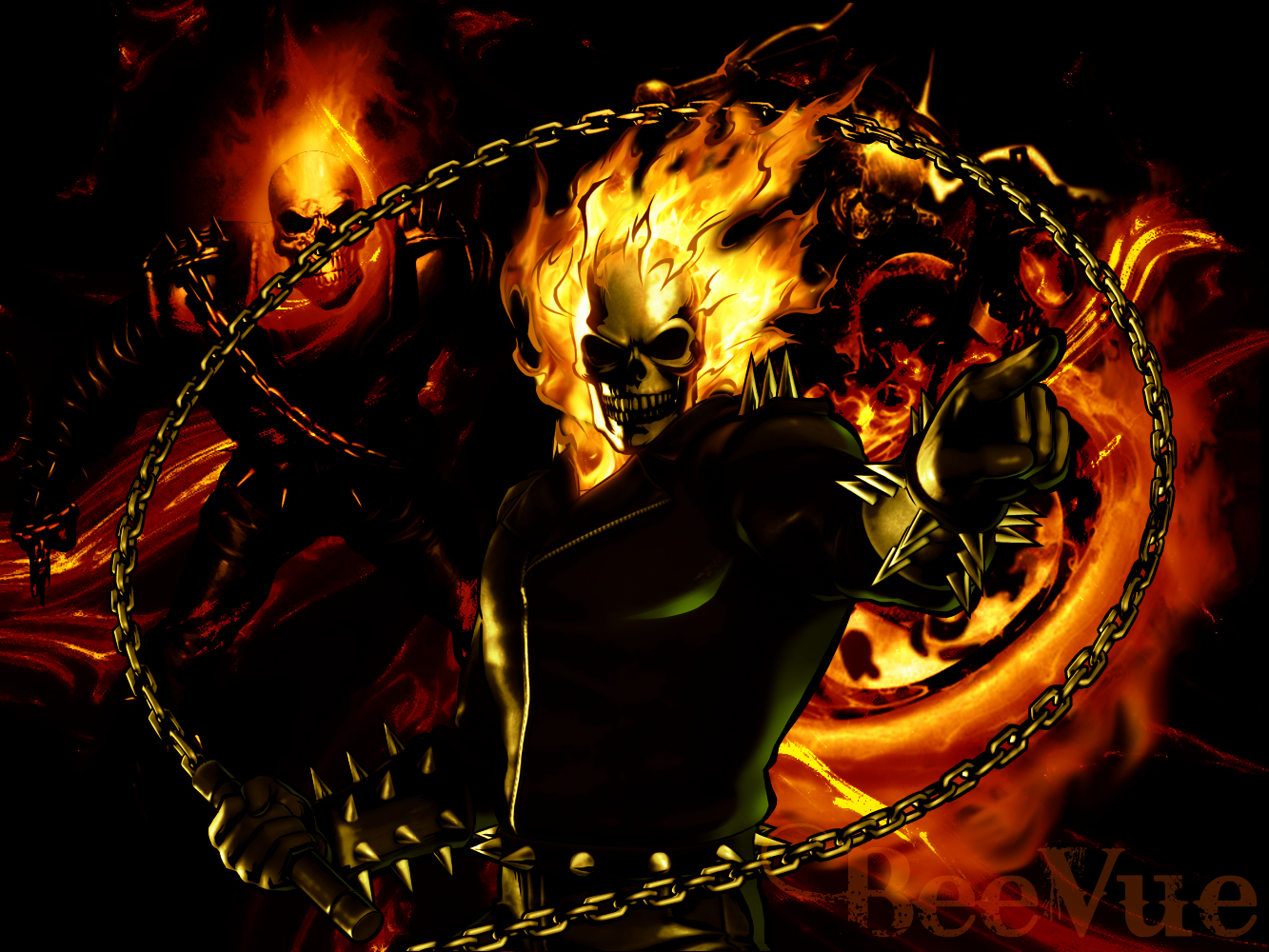 Ghost Rider Wallpaper by BeeVue on