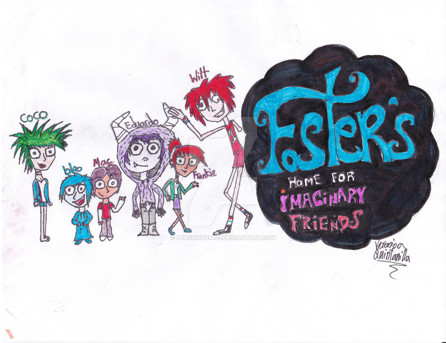 Fosters Home For Imaginary Friends By Peacmaker101 On