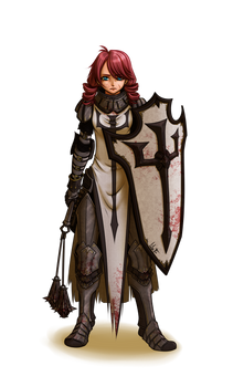 Commission : Crusader Elodie