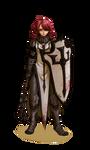 Commission : Crusader Elodie