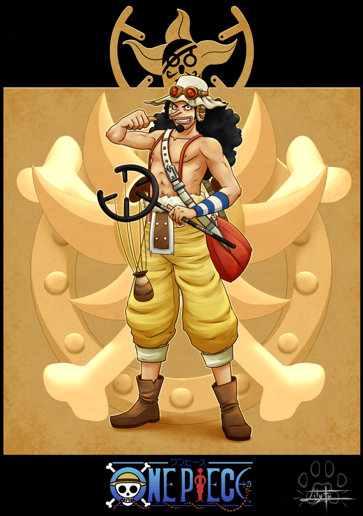 One Piece cards : Usopp by Lily-Fu on DeviantArt