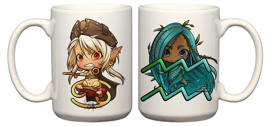 Mugs by Lily-Fu