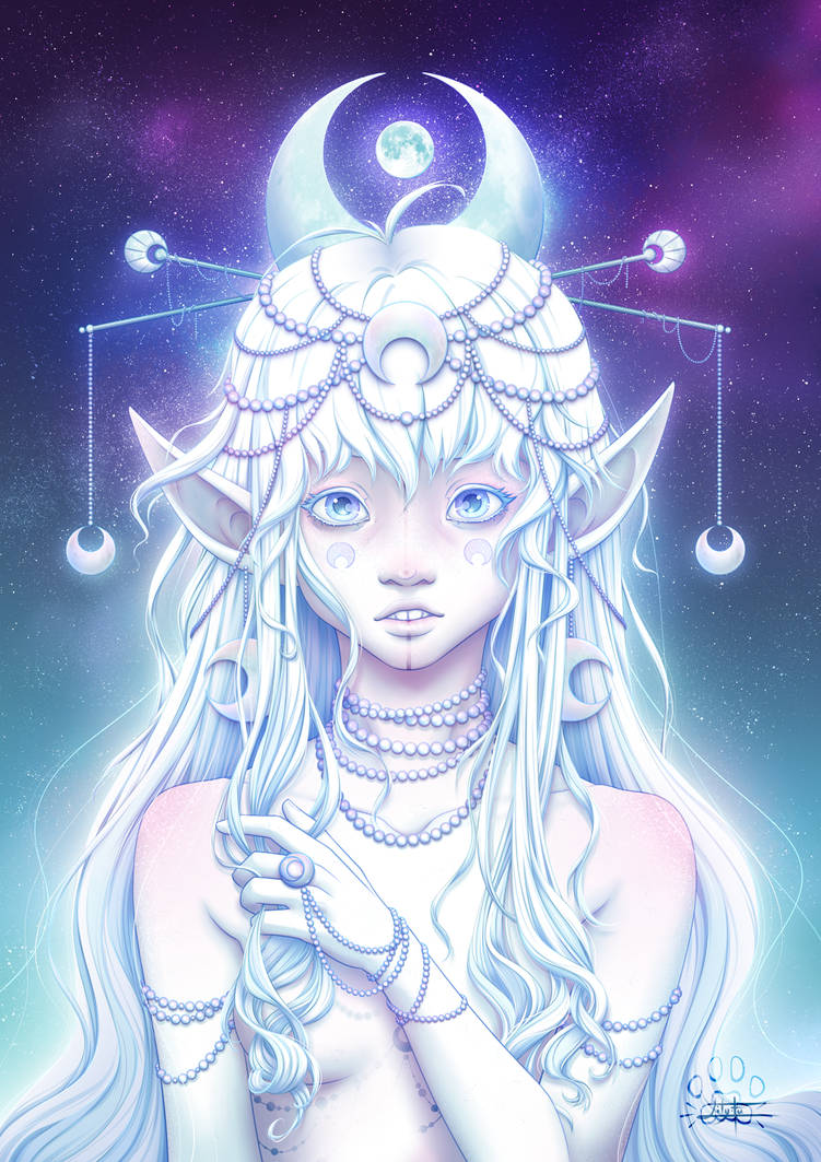 Astral Girls : Moon