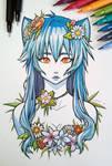Blue Neko-Chan