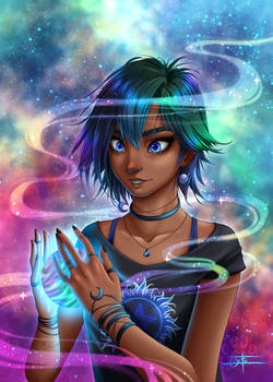 Astral Girls : Tanya, discoverer of worlds