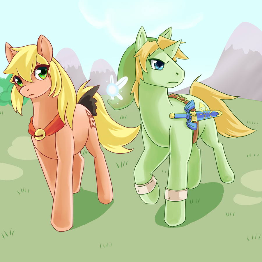 More MLP style :D by HylianGuardians