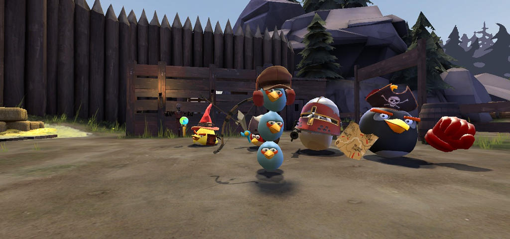 Gmod: Meet Angry Birds Epic Team (The Flocks) by Nikolas178 on