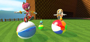 Gmod: Ball Balancing Playtime on Green Hill Zone