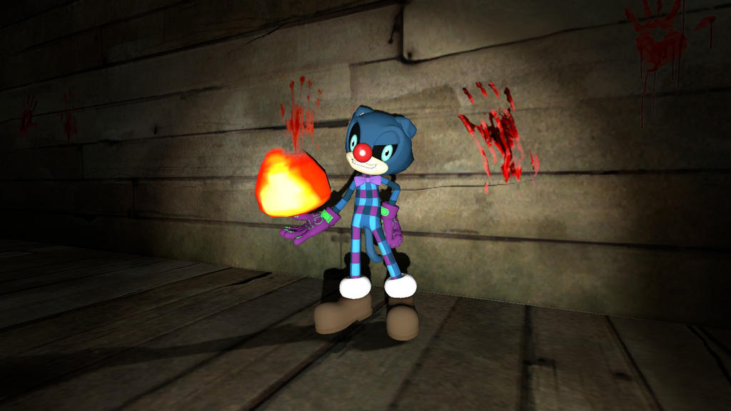 Reece the Evil Clown Cat for Gmod by Nikolas178 on DeviantArt