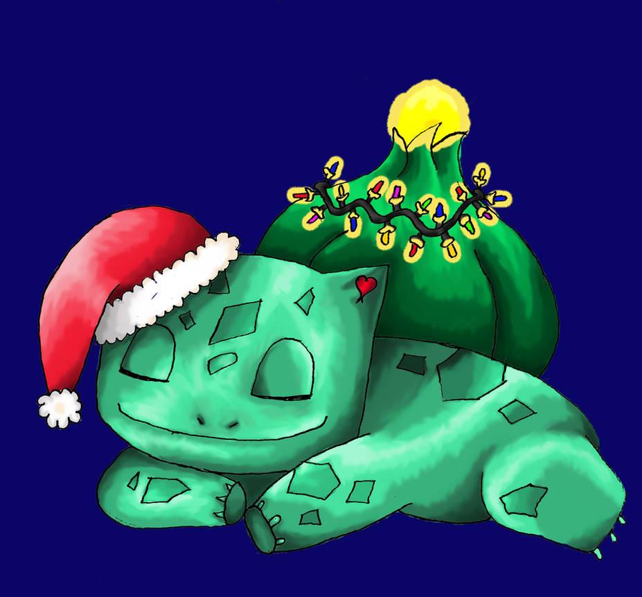 5cc245df Christmas Bulbasaur by DarkAlchemistNinja on DeviantArt