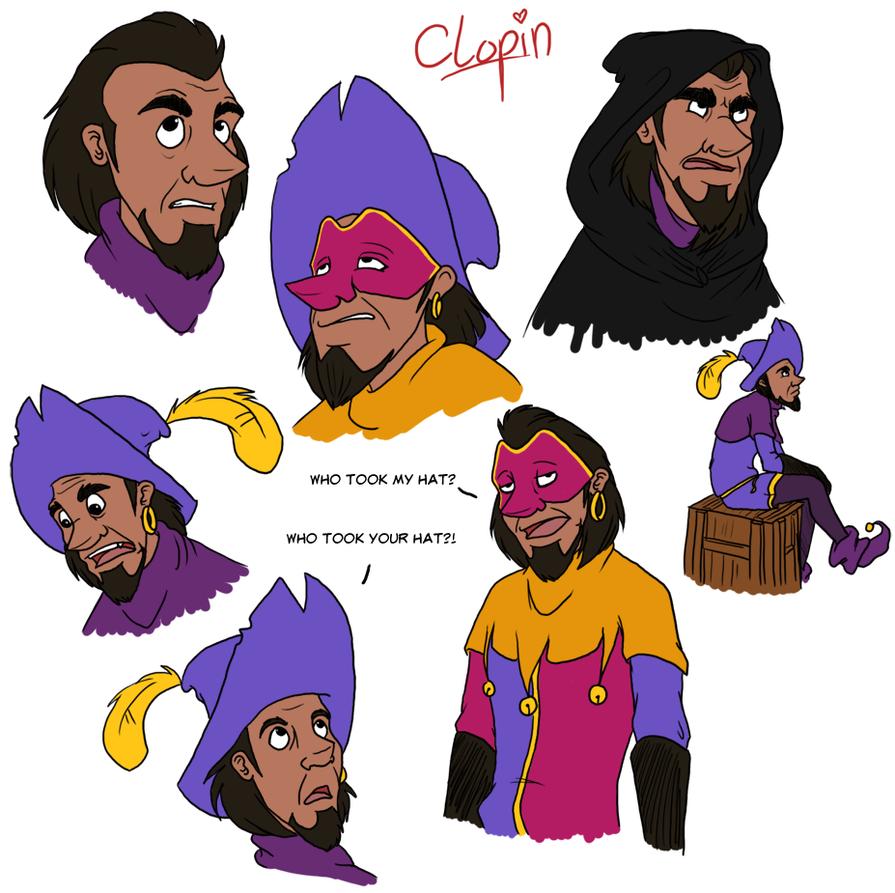 clopin's facesgellyh on deviantart