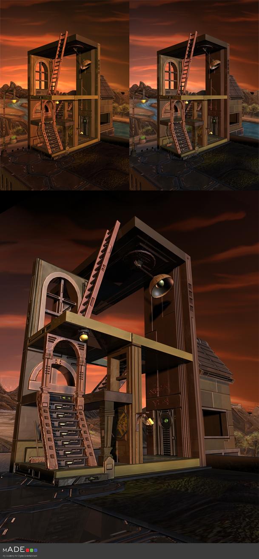 Scrappy Escher by Gellyh